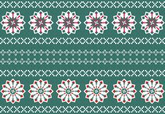 Christmas Snowflake Pattern Royalty Free Stock Photos