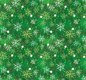Christmas snowflake pattern seamless stock photos