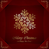 Christmas snowflake Royalty Free Stock Photos