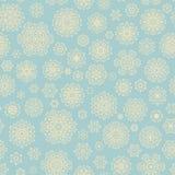 Christmas snowflake seamless pattern. EPS 10 vector. Christmas snowflake seamless pattern. And also includes EPS 10 vector Royalty Free Stock Image