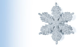 Christmas snowflake shape decoration Stock Photos