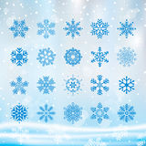 Christmas Snowflake stock photography