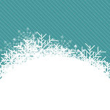 Christmas Snowflake. Vector Illustration Royalty Free Stock Images