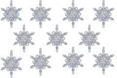 Christmas snowflake on white background Stock Image