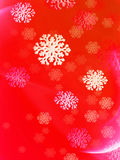 Christmas Snowflake Wrapping Paper stock illustration