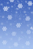 Christmas Snowflakes Royalty Free Stock Photos