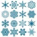 Christmas snowflakes Royalty Free Stock Photography