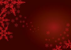 Christmas Snowflakes Royalty Free Stock Photo