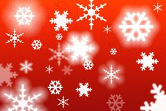 Christmas snowflakes. Abstract image of some feastive holiday snowflakes stock illustration