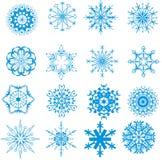 Christmas snowflakes Stock Photos