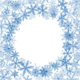 Christmas snowflakes background Royalty Free Stock Image