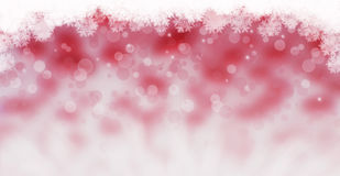 Christmas snowflakes background Stock Image