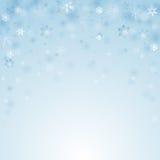 Christmas snowflakes background Stock Image