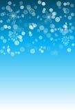 Christmas snowflakes background Stock Photo
