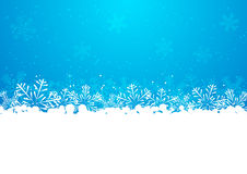 Christmas snowflakes background with copy space. Christmas snowflakes background for Your design Royalty Free Stock Image