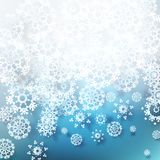 Christmas snowflakes background. EPS 10 Stock Photos