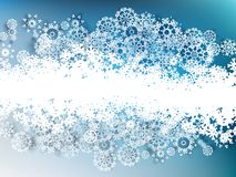 Christmas snowflakes background. EPS 10 Royalty Free Stock Image