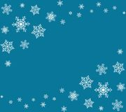 Christmas snowflakes background. Greeting card or invitation. Merry Christmas and Happy New Year. Stock Photos