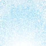 Christmas Snowflakes Background. Vector