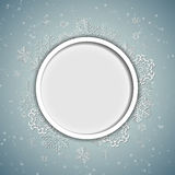 Christmas Snowflakes Background Vector Stock Images