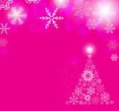 Christmas snowflakes background vector illustration royalty free illustration