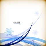Christmas snowflakes business abstract background Royalty Free Stock Photography