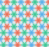 Christmas snowflakes color Royalty Free Stock Photos