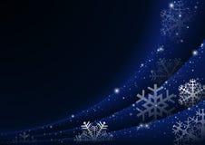 Christmas Snowflakes Curtain Royalty Free Stock Image