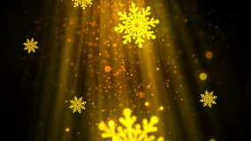 Christmas Snowflakes 4 Loopable Background