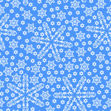 Christmas snowflakes pattern seamless Royalty Free Stock Images