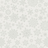 Christmas snowflakes seamless background. EPS 10 Royalty Free Stock Photo