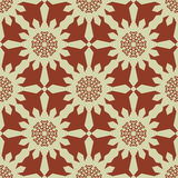 Christmas snowflakes seamless background. New year pattern vector illustration Royalty Free Stock Photo