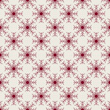 Christmas snowflakes seamless background. New year vector illustration Royalty Free Stock Photo