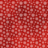 Christmas Snowflakes Seamless Pattern Stock Photography
