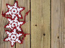 Christmas snowflakes Stock Photography
