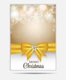 Christmas Snowflakes Website Banner and Card Royalty Free Stock Image