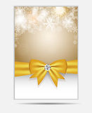 Christmas Snowflakes Website Banner and Card Royalty Free Stock Photo