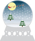 Christmas Snowglobe Stock Images