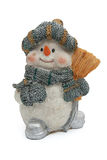 Christmas Snowman Stock Photography