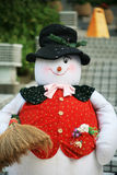 Christmas snowman Stock Photography