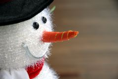 Christmas snowman decoration Stock Image