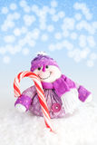 Christmas snowman Royalty Free Stock Images