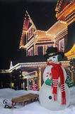 Christmas Snowman by Festive Home Royalty Free Stock Photo