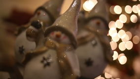 Christmas Snowman stock video