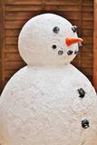 Christmas snowman model Stock Photo