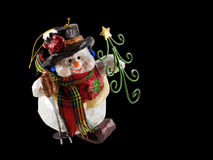 Christmas snowman ornament  Stock Photography