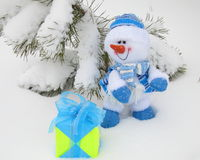 Free Christmas Snowman  - Stock Photos Stock Photography - 69401312