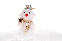 Christmas snowman toy Stock Photos
