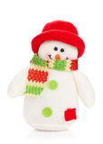 Christmas snowman toy Stock Images