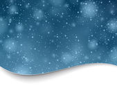 Christmas snowy background. Royalty Free Stock Images